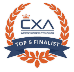 Top 5 Finalist of the Customer Experience Africa Awards